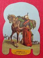 Plaque Découpée Soldats De L'empire Offerte Par Les Fromages Mère Picon. Vers 1960. N° 21 - Plaques En Tôle (après 1960)