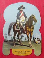 Plaque Découpée Soldats De L'empire Offerte Par Les Fromages Mère Picon. Vers 1960. N° 20 - Plaques En Tôle (après 1960)