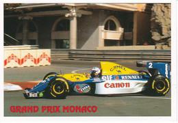 """GRAND PRIX DE MONACO ,WILLIAMS RENAULT """"PROST"""" REF 70548 - Grand Prix / F1"""