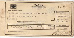 """COMPANHIA DE SEGUROS """"TAGUS"""" 15488 - Portugal"""