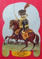 Plaque Découpée Soldats De L'empire Offerte Par Les Fromages Mère Picon. Vers 1960. N° 17 - Plaques En Tôle (après 1960)