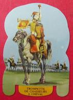 Plaque Découpée Soldats De L'empire Offerte Par Les Fromages Mère Picon. Vers 1960. N° 15 - Plaques En Tôle (après 1960)