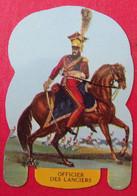 Plaque Découpée Soldats De L'empire Offerte Par Les Fromages Mère Picon. Vers 1960. N° 9 - Plaques En Tôle (après 1960)