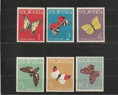 ALBANIE - ANNEE : 1963 - Y&T : 646/651  - MNH** - - Albanie