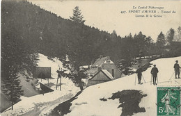 15 - LE LIORAN - Sport D'hiver - Tunnel Du Lioran Et Le Griou - Skieurs - Otros Municipios