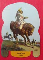 Plaque Découpée Soldats De L'empire Offerte Par Les Fromages Mère Picon. Vers 1960. N° 7 - Plaques En Tôle (après 1960)