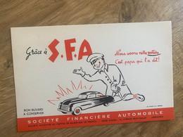 1 BUVARD SOCIETE FINANCIERE AUTOMOBILE - Auto's