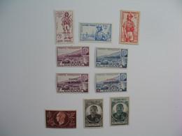 Guyane Stamps French Colonies  N° 169 à 171 + 172/173 + 177/178 + 180/181   Neuf */** à Voir  Qqs Rousseurs - Neufs