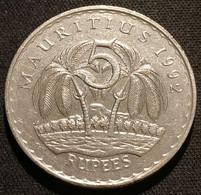 ILE MAURICE - MAURITIUS - 5 RUPEES 1992 - Sir Seewoosagur Ramgoolam - KM 56 - ( ROUPIES ) - Mauritius