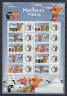 """FRANCE 2006 - Feuille De 2 X 5 Timbres Personnalisés Meilleurs Vœux"""" - Yvert  F3986A  (timbres 3986A à 3990A) - Personalisiert"""