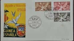 Carta. Guinea. - Guinea Española