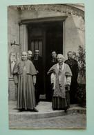 56 - Belle Carte-photo - BELZ - Religion - SACRE DE L'EVEQUE DE BEAUVAIS -   Adressée  à Mme La Supérieure à GAUDECHART - Other Municipalities