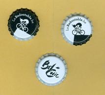 """3 Capsules Bières Belges """"La Binchoises"""" - Cerveza"""