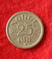 Norway 25 Ore 1954 KM401 - Norway
