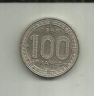 S-100 Francs 1968 Camarões - Cameroon