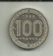 S-100 Francs 1966 Camarões - Cameroon