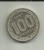 S-100 Francs 1967 Camarões - Cameroon