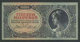 HUNGARY. 10.000 MILPENGÖ. 29/4/1946. Pick126. AUNC / PNEUF. - Hungary