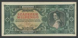 HUNGARY. 100.000 MILPENGÖ. 29/4/1946. Pick127. AUNC / PNEUF. - Hungary