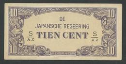 DUTCH EAST INDIES. 10 CENT 1942. SERIAL S/AZ. Pick121c. UNC / NEUF - Dutch East Indies