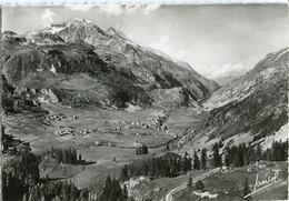 TIGNES - VUE GENERALE Du BASSIN Avant Le BARRAGE Et Le MONT POURRI ( 3 782 M.)  - - Altri Comuni