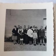 Ath 2 Photos D'une Famille  Photo Faite Part  René Lefébvre Rue Aux Gades  Ath 2 Photos 7cm/7cm - Ath