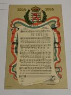 Luxembourg, Gebiet 1914-1915 - Altri