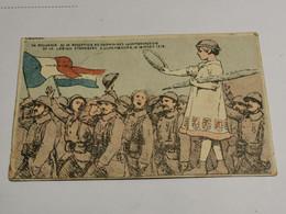 Souvenir De La Réception Des Volontaires Luxembourgeois... 1919. WW1 Rare - Altri