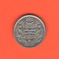 Guyana 10 Ten Cents 1990 Bank Of Guyana Nikel  Coin - Guyana