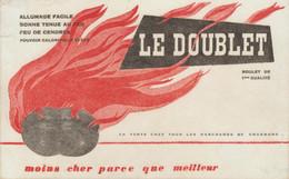 BUVARD CHARBON LE DOUBLET - Pulizia