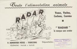 BUVARD ALIMENTS ANIMAUX RADAR - Agricoltura
