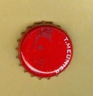 """1 Capsule De Bière Belges Jupiler """"T. MEUNIER"""" - Cerveza"""