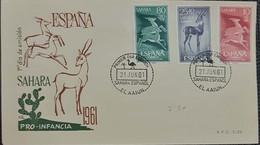 Carta. Sáhara. - Sahara Español