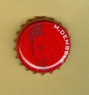 "1 Capsule De Bière Belges Jupiler ""M. DEMBELE"" - Cerveza"