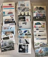 Collection De Plus De 400 Premiers Jours / Cartes Maximum Dont Cachets Spéciaux / Cote >1045€ - Verzamelingen