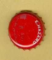 "1 Capsule De Bière Belges Jupiler ""E. HAZARD"" - Cerveza"