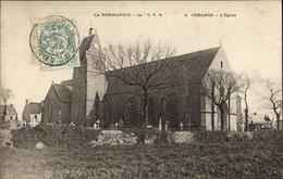 CPA Creances Manche, L'Eglise - Sonstige Gemeinden