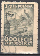 Poland 1946 - 600th Anniversary Of The Town Bydgoszcz - Mi 435 - Used - Used Stamps
