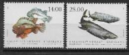 Groënland 2021, Série Neuve Poissons - Unused Stamps