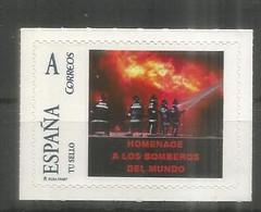 ESPAÑA TUSELLO HOMENAJE A LOS BOMBEROS FIREMAN - Firemen