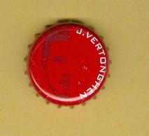 """1 Capsule De Bière Belges Jupiler """"J. VERTONGHEN"""" - Cerveza"""