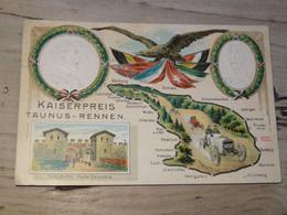 ALLEMAGNE : KAISERPREIS TAUNUS RENNEN, Carte Gaufrée ............. 201101c-3465 - Sin Clasificación