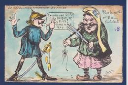CPA CHINE Asie Non Circulé Caricature Satirique Par Orens Kaiser Allemagne Tirage Limité - Orens