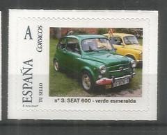ESPAÑA TUSELLO AUTOMOVIL SEAT 600 - Autos