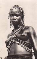 N° 220 X 2 Sur Carte D'une Danseuse D' Oubangui-Chari  ,1952 ,2 Scans - Centraal-Afrikaanse Republiek