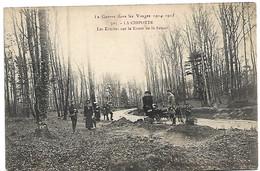 L100H1163 - La Guerre Dans Les Vosges 1914-1915 - N° 503 La Chipotte. Les Tombe Sur La Route De St-Benoit - Otros Municipios