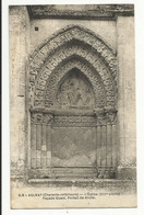 AULNAY ( Charente Inférieure ) , L'Eglise ( XIII Siècle ) , Façade Ouest , Portail De Droite - Aulnay