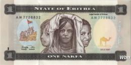 Erythrée 1 Nakfa (P1) 1997 (Pref: AM) -UNC- - Eritrea