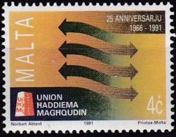 Malta 1991, 863,  MNH **,  Union Haddiema Maghqudin (UHM) - Malta