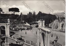 CARTOLINA  CATANIA,SICILIA,VILLA BELLINI,STORIA,CULTURA,IMPERO ROMANO.MEMORIA,BELLA ITALIA,RELIGIONE,VIAGGIATA 1954 - Catania
